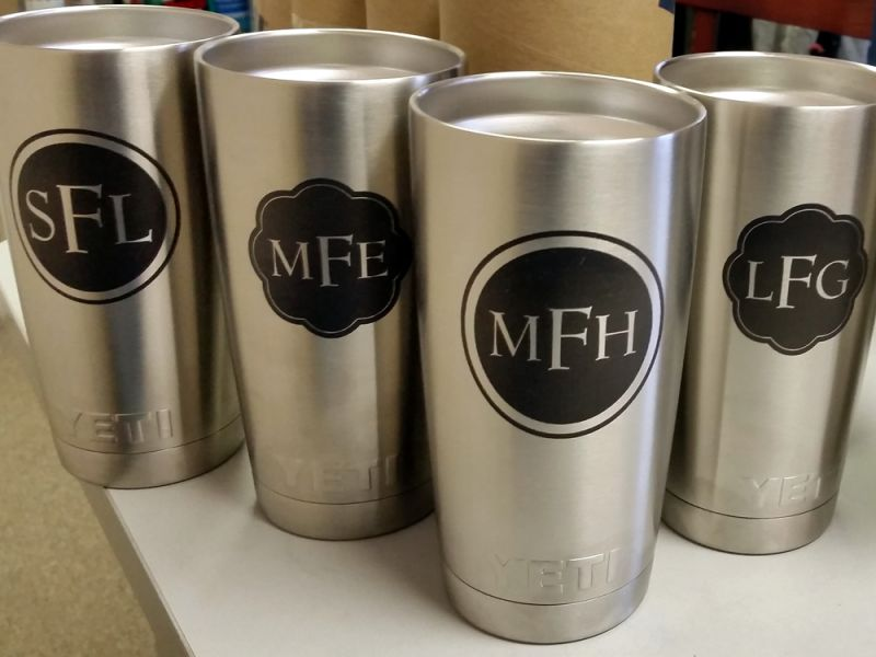 Custom Yeti Mugs Are All The Rage Southeast Laser Etching
