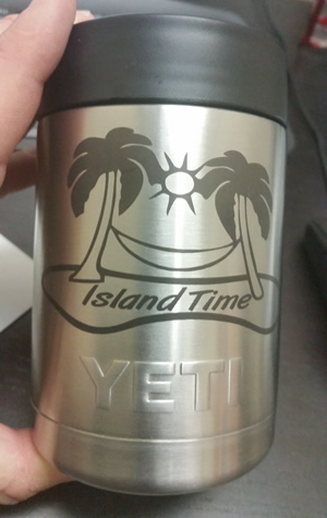 Yeti rambler personalized